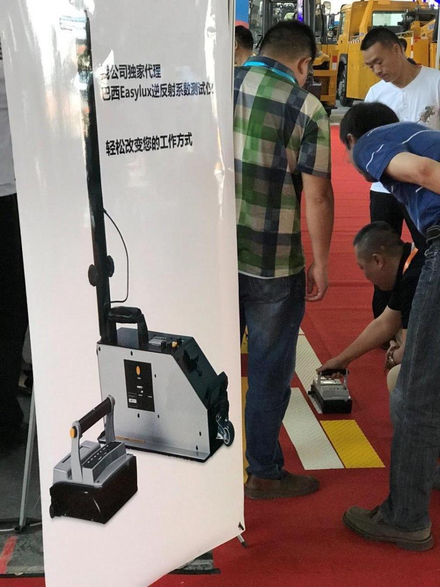 Handheld Retroreflectometer China Intertraffic 2018