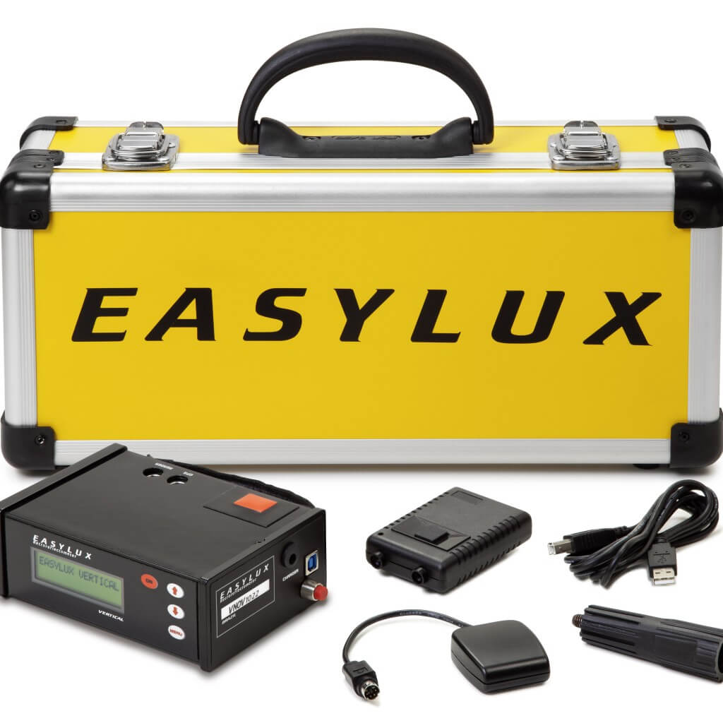 Retroreflektometer Classic Vertical / Easylux / the most compact dual angle retroreflectometer in the world market.