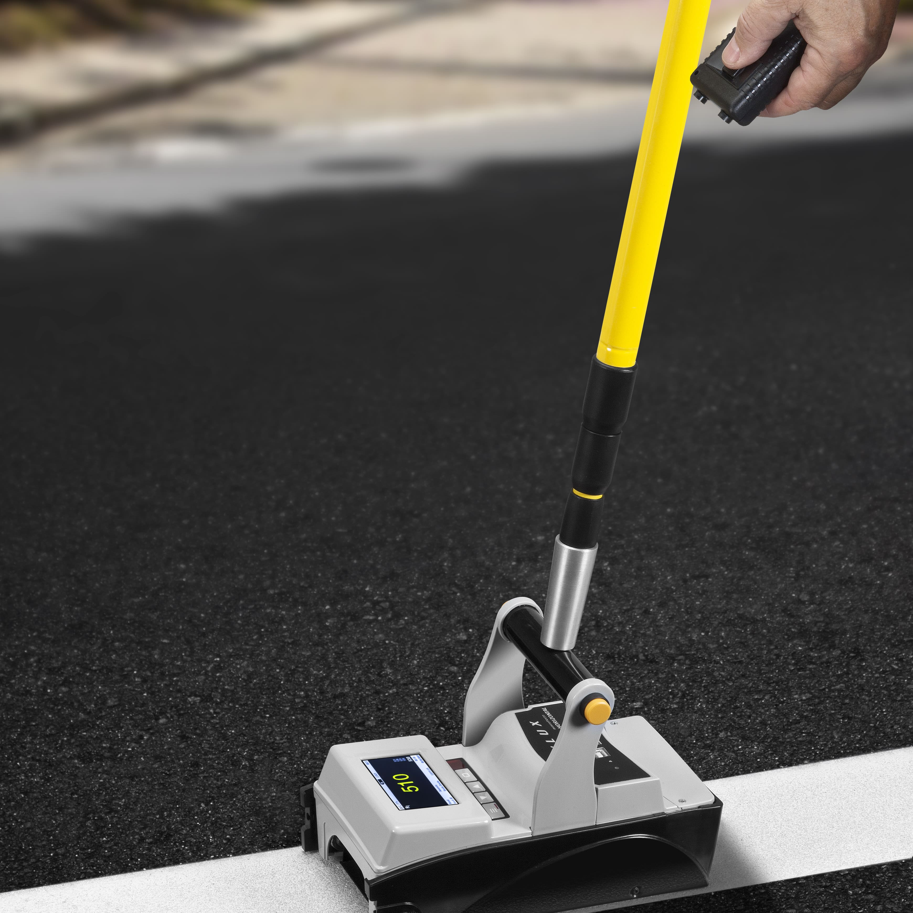 retroreflectometer - Easylux - ASTM E1710 / EN 1436 / for road markings
